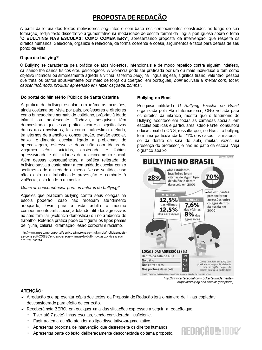 Famosos Redação Nota 1000 - Sob medida para o ENEM MF88